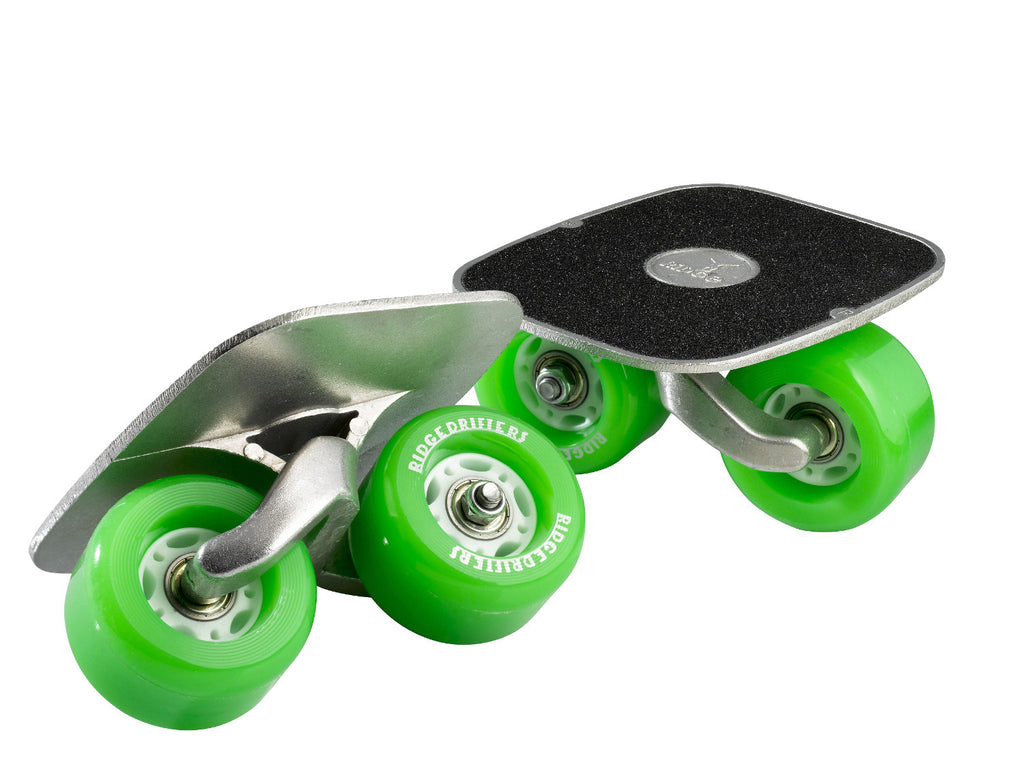 Ridge Drifters Freeline Drift Skates in Green