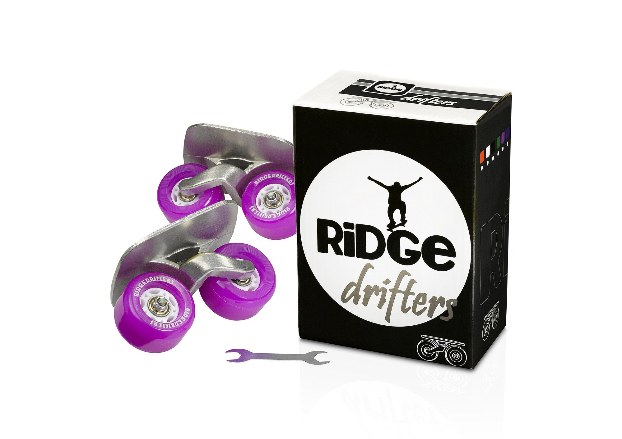 Ridge Drifters Freeline Drift Skates in Purple