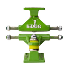 "Ridge Skateboards 4"" Aluminium Trucks for Big Brother 27"" Cruisers in Silver, Black, White, Green, Red, Blue or Yellow"