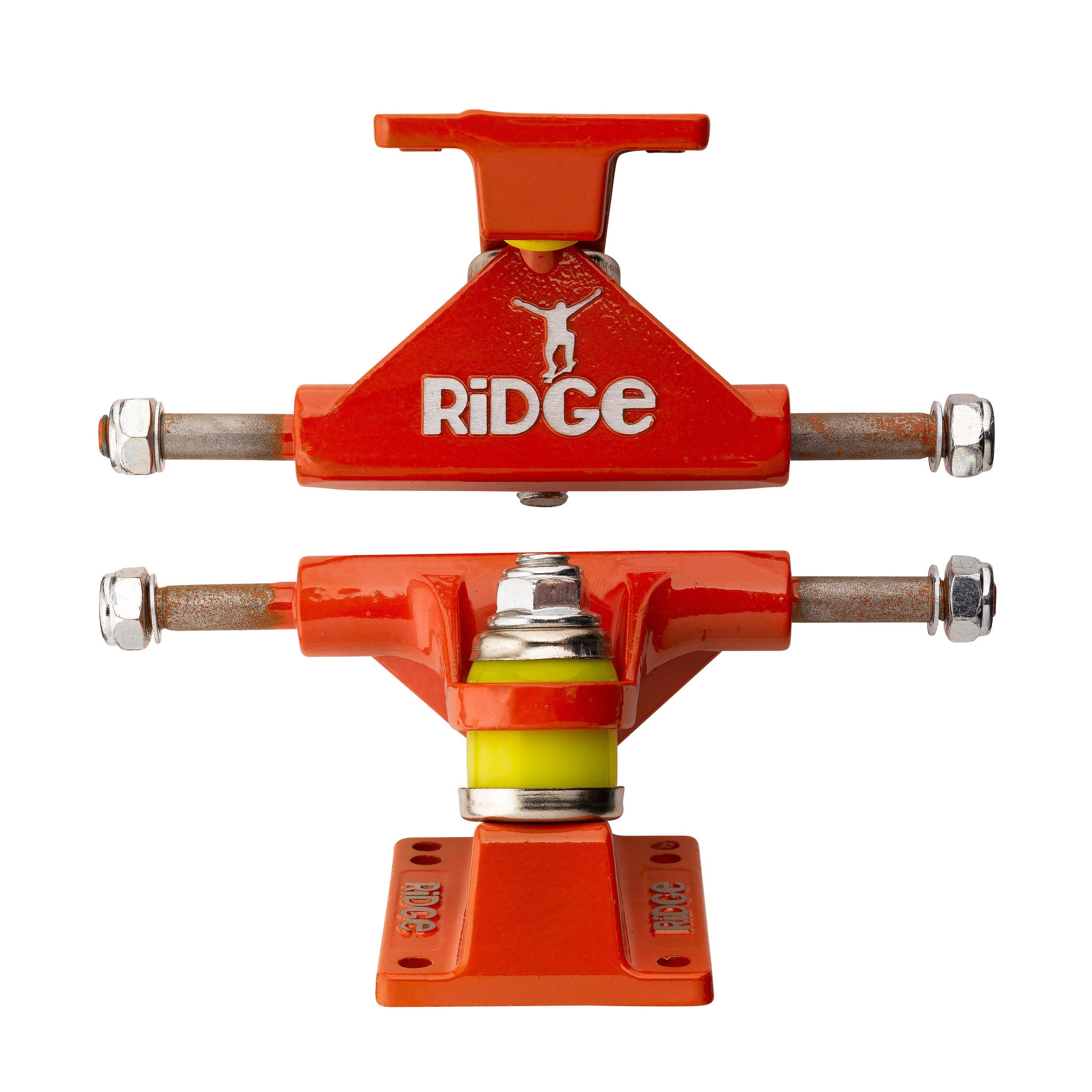 "Ridge Retro Cruiser Skateboards 3.125"" Aluminium Trucks in 11 colours"