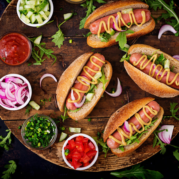 Jumbo Hot Dogs - Quarter-Pound