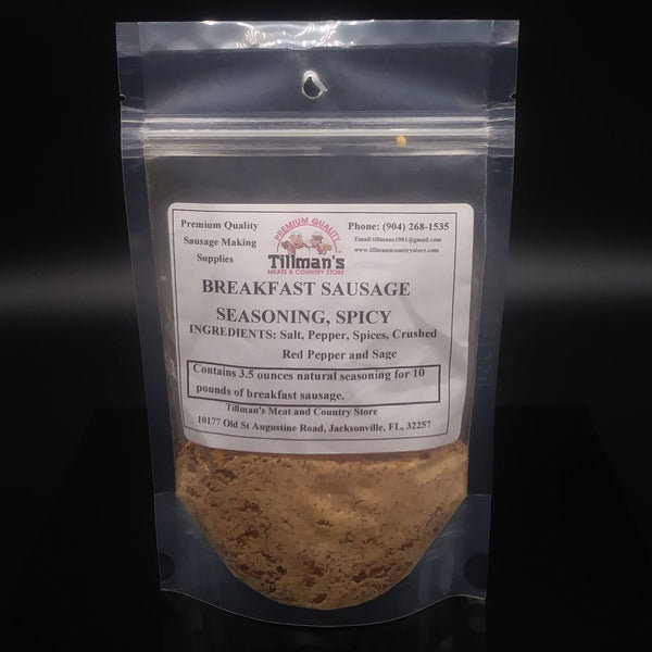 Breakfast Sausage Seasoning (Spicy)