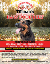 Raw Meat Blend - Dog