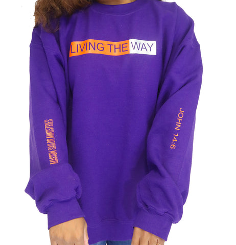 Purple Living the Way Crew