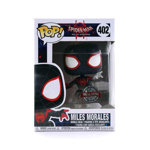 Funko Pop! Marvel: Spider-Man Into The Spiderverse - Miles Morales #402 - Special Edition