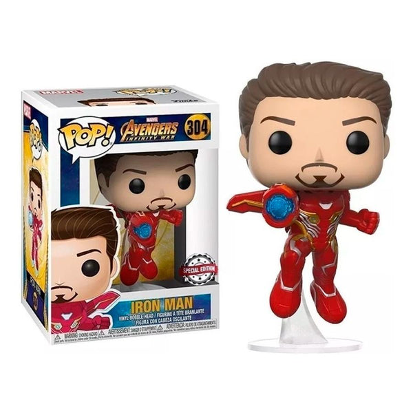 Funko Pop! Marvel: Avengers Infinity War - Iron Man #304 - Special Edition