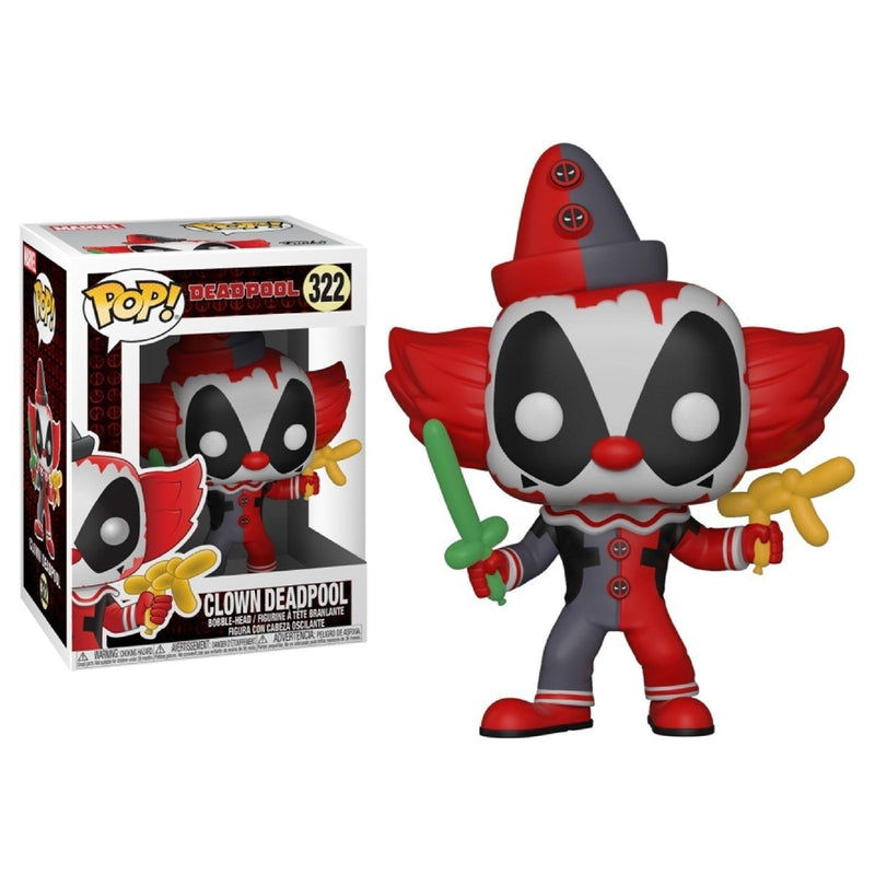 Funko Pop! Marvel: Deadpool - Clown Deadpool