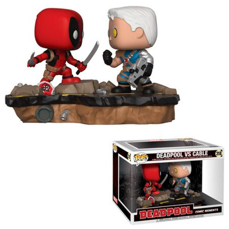 Funko Pop! Marvel: Deadpool - Deadpool Vs Cable
