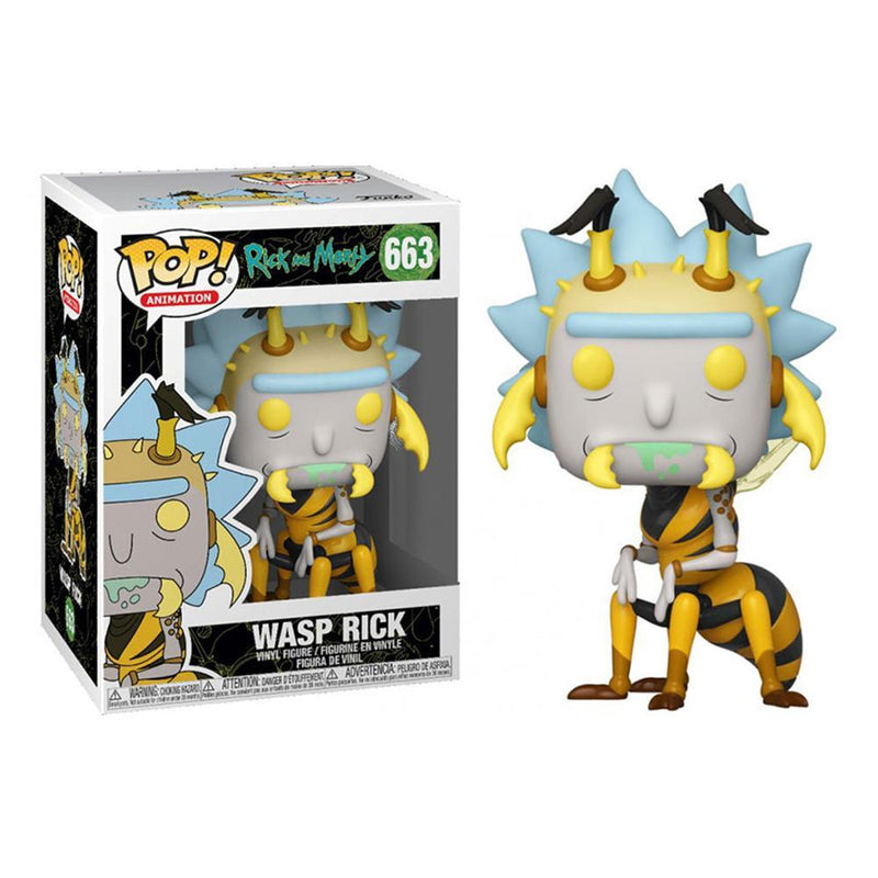 Funko Pop! Animation: Rick And Morty - Wasp Rick