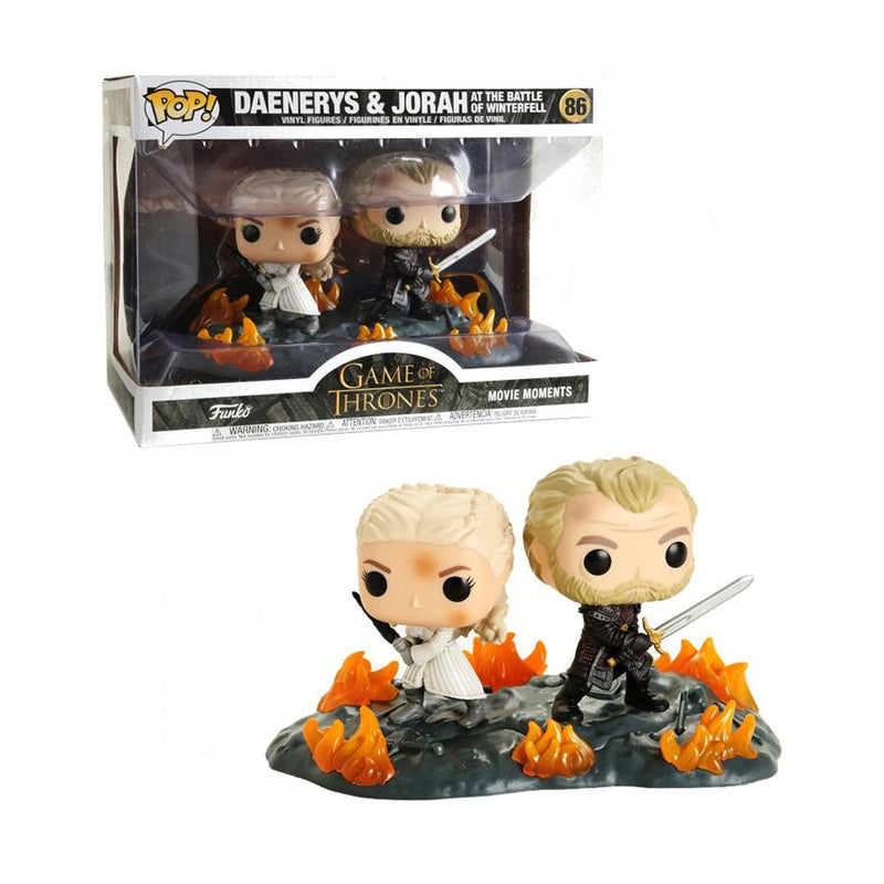 Funko Pop! Television: Game of Thrones - Daenerys & Jorah