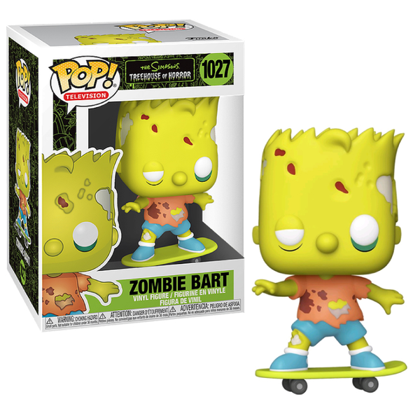 Funko Pop! Television: The Simpsons - Zombie Bart #1027