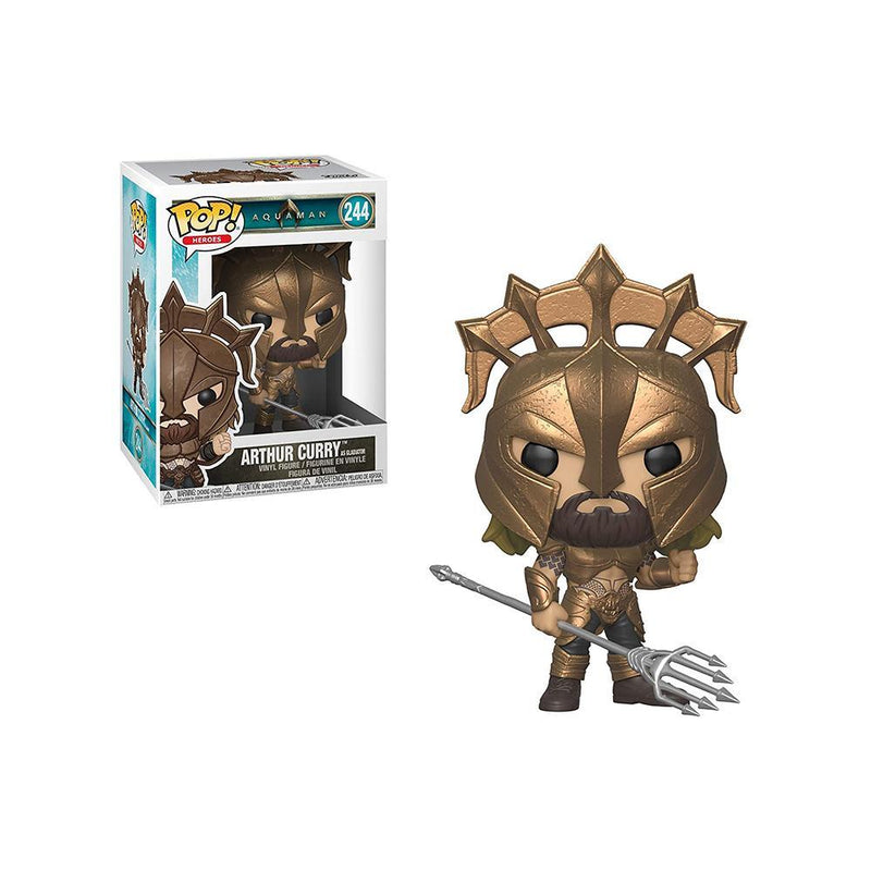 Funko Pop! Heroes: Aquaman - Arthur Curry As Gladiator