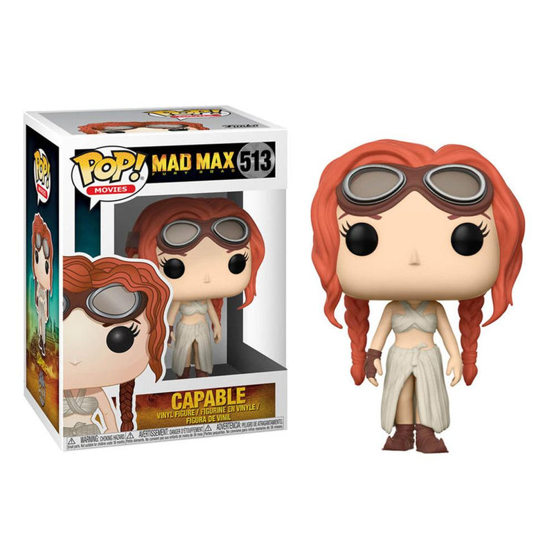 Funko Pop! Movies: Mad Max - Capable