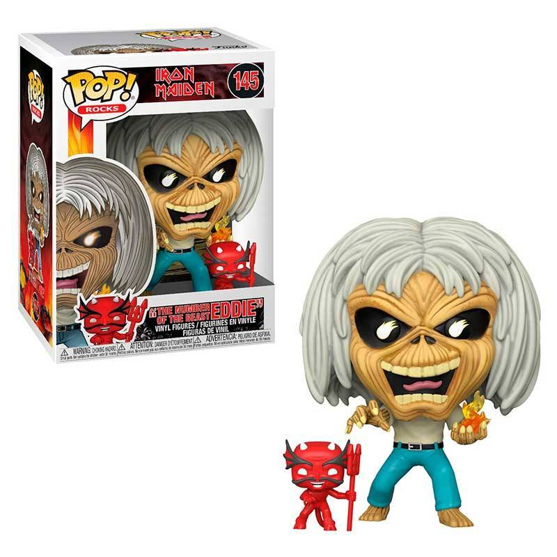 Funko Pop! Rocks: Iron Maiden - The Number Of The Beast Eddie