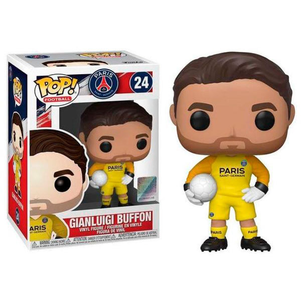 Funko Pop! Football: Paris Saint-Germain - Gianluigi Buffon #24
