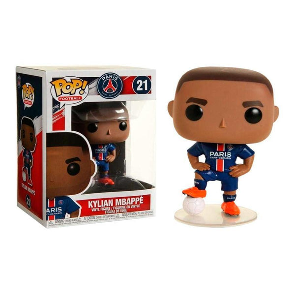 Funko Pop! Football: Paris Saint-Germain - Kylian Mbappé #21