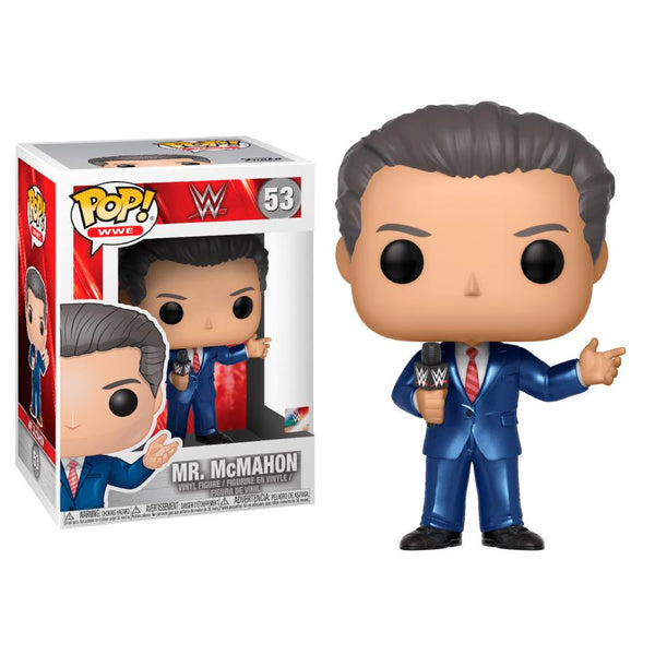 Funko Pop! Sports: WWE - Mr. McMahon #53