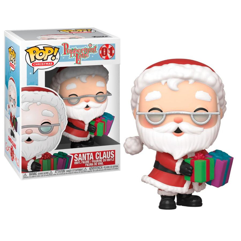 Funko Pop! Otros: Peppermint Lane - Santa Claus