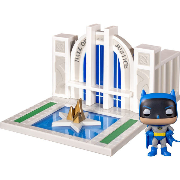 Funko Pop! Heroes: Batman 80Th - Batman with the Hall of Justice #09