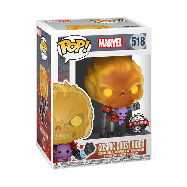 Funko Pop! Marvel: Marvel - Cosmic Ghost Rider #518 (Special Edition)