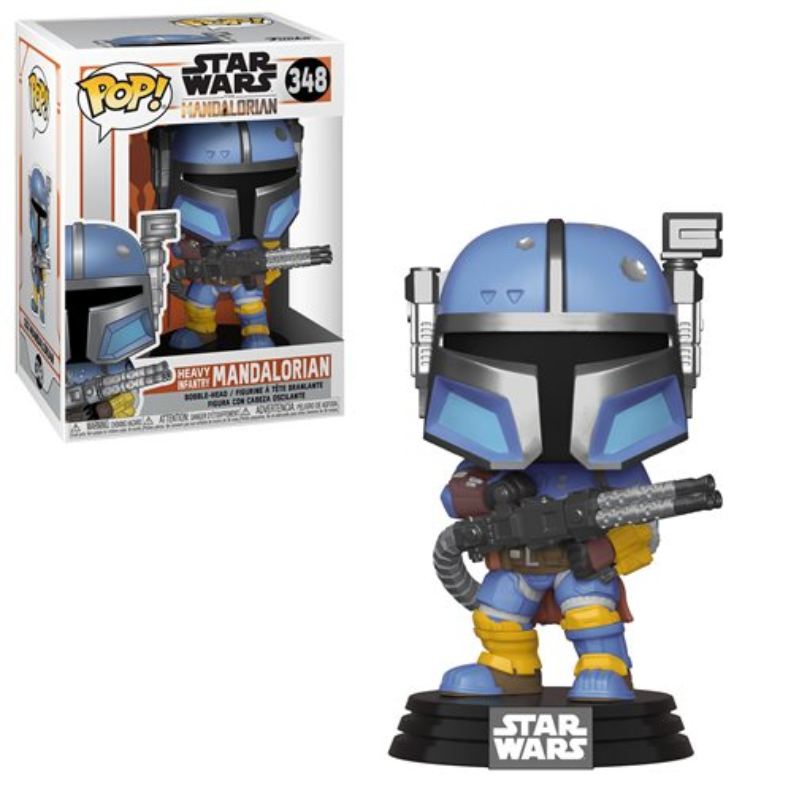 Funko Pop! Star Wars: Star Wars - The Mandalorian Heavy Infantry Mandalorian