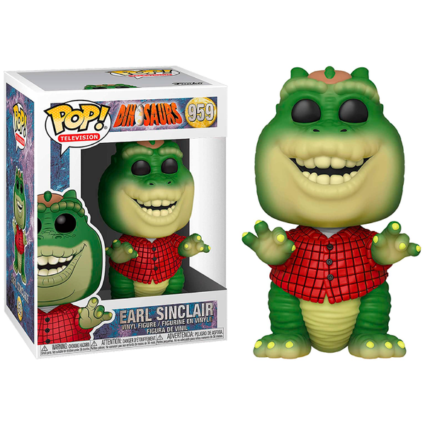 Funko Pop! Television: Dinosaurs Earl Sinclair #595