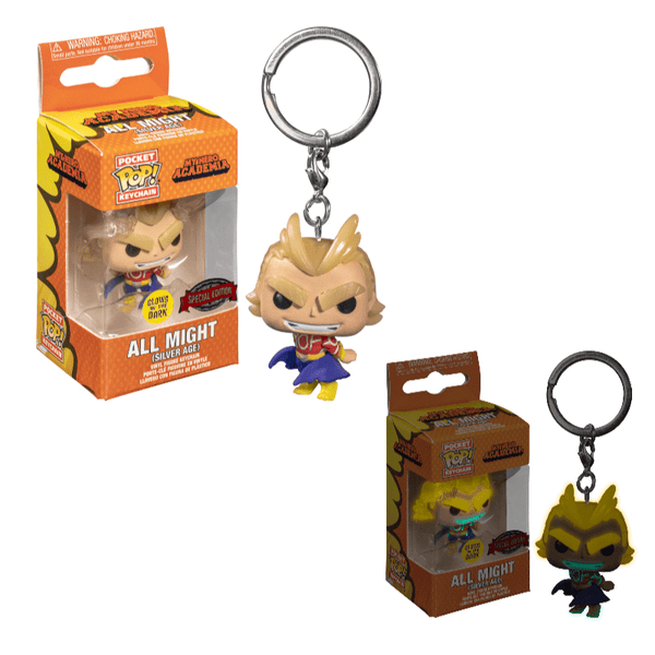 Funko Pop! Keychains: My Hero Academia - All Might - Special Edition (Glow in the Dark)
