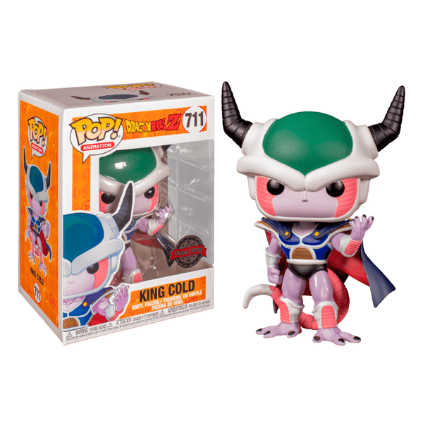 Funko Pop! Animation: Dragon Ball Z - King Cold - Special Edition