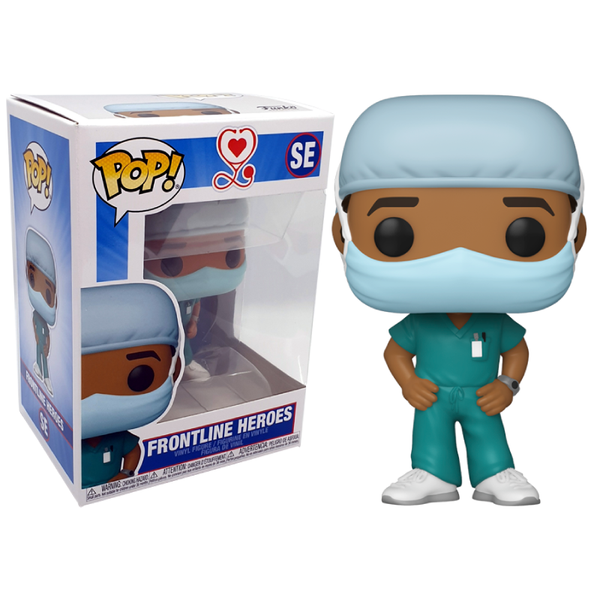 Funko Pop! Otros: Front Line Worker Male Hospital Worker #2