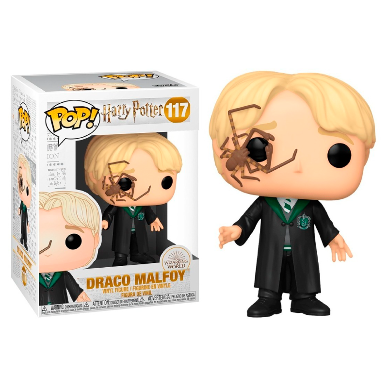 Funko Pop! Movies: Harry Potter - Malfoy with Whip Spider