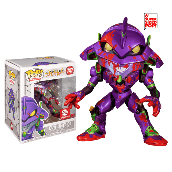Funko Pop! Animation: Evangelion - EVA Unit 01 #747 - 6 Pulgadas - AE Exclusive (Metallic)
