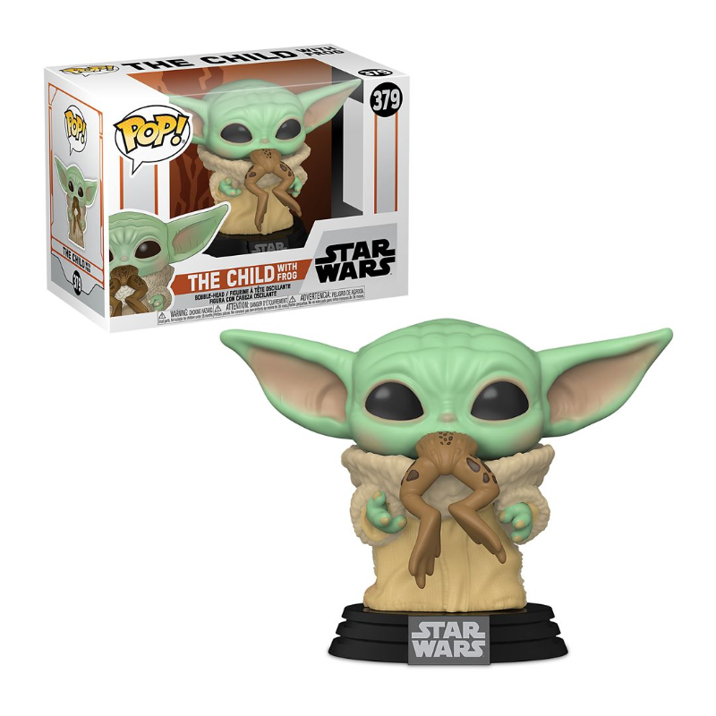 Funko Pop! Star Wars: Star Wars - The Child with Frog