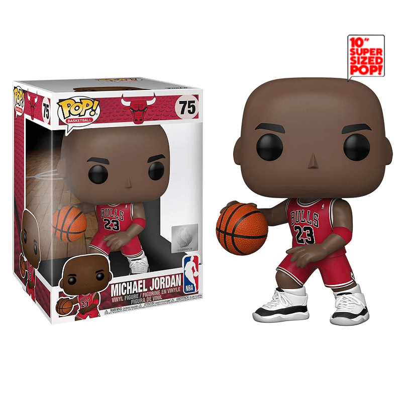Funko Pop! Basketball: Basketball - Michael Jordan