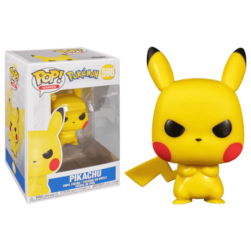 Funko Pop! Games: Pokemon - Grumpy Pikachu