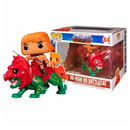 Funko Pop! Heroes: Masters of the Universe - He-Man on Battle Cat