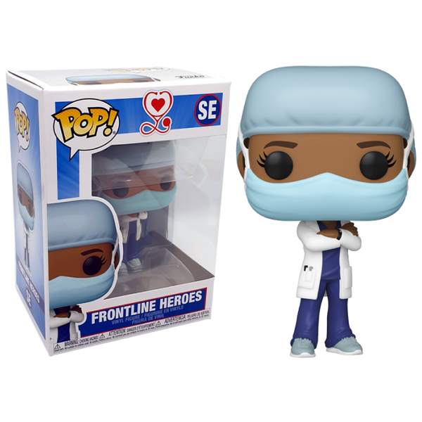 Funko Pop! Otros: Front Line Worker Female Hospital Worker #2