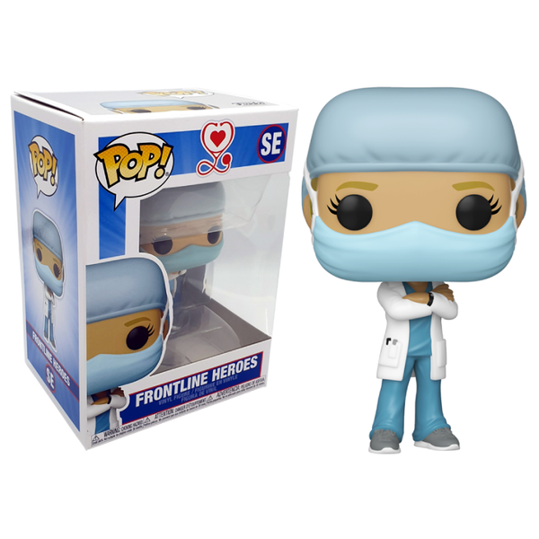 Funko Pop! Otros: Front Line Worker Female Hospital Worker #1