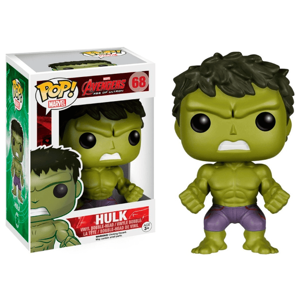 Funko Pop! Marvel: Avengers Age of Ultron - Hulk #68