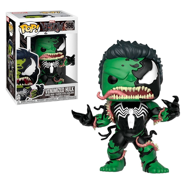 Funko Pop! Marvel: Marvel Venom - Venomized Hulk #366