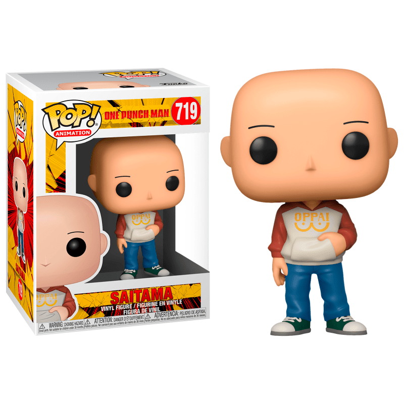 Funko Pop! Animation: One Punch Man - Saitama