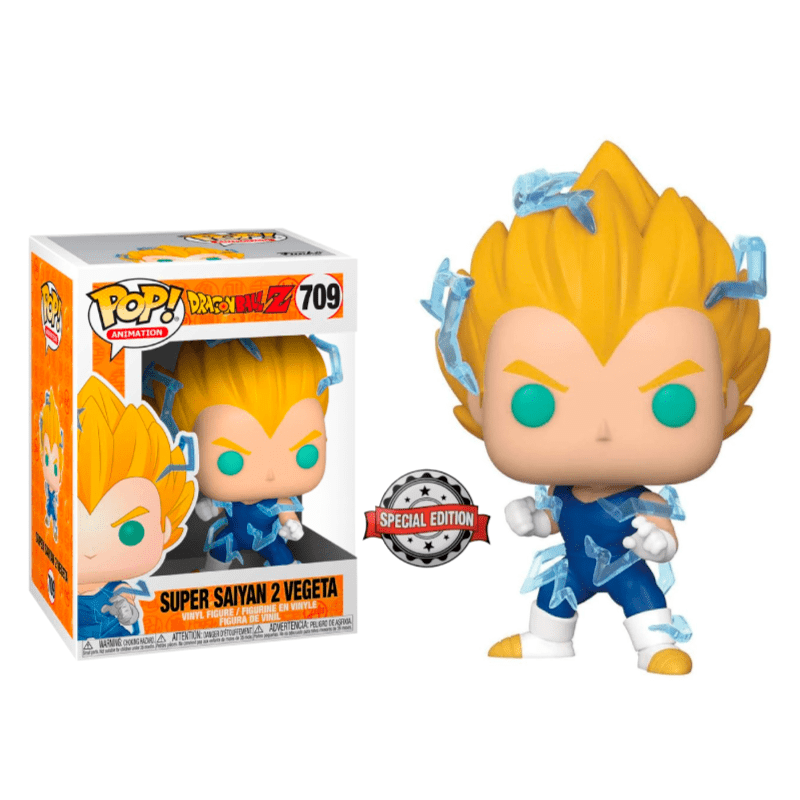 Funko Pop! Animation: Dragon Ball Z - Super Saiyan 2 Vegeta