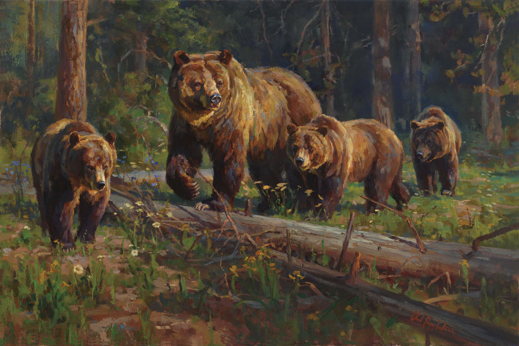 New Wildlife Prints By Chad Poppleton Mark Kelso And Art