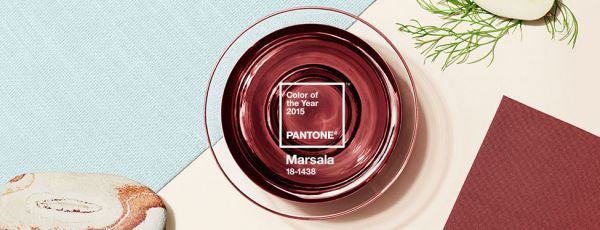 Marsala is 2015 Pantone Color of the Year