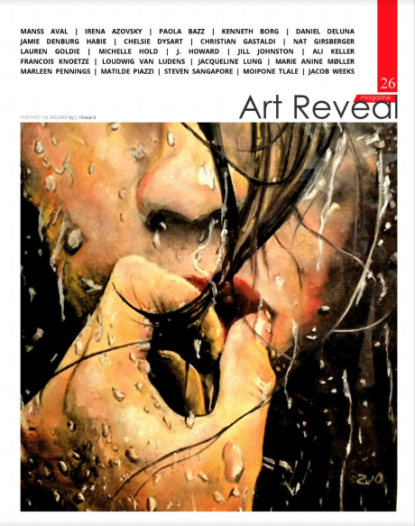 Artist Michelle Hold Featured in Art Reveal Magazine