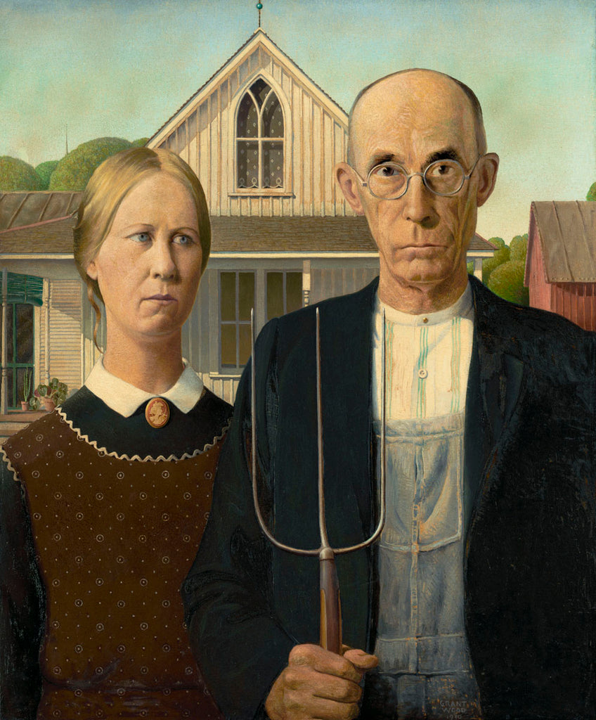 Grant Wood: American Gothic and Other Fables Opening at the Whitney