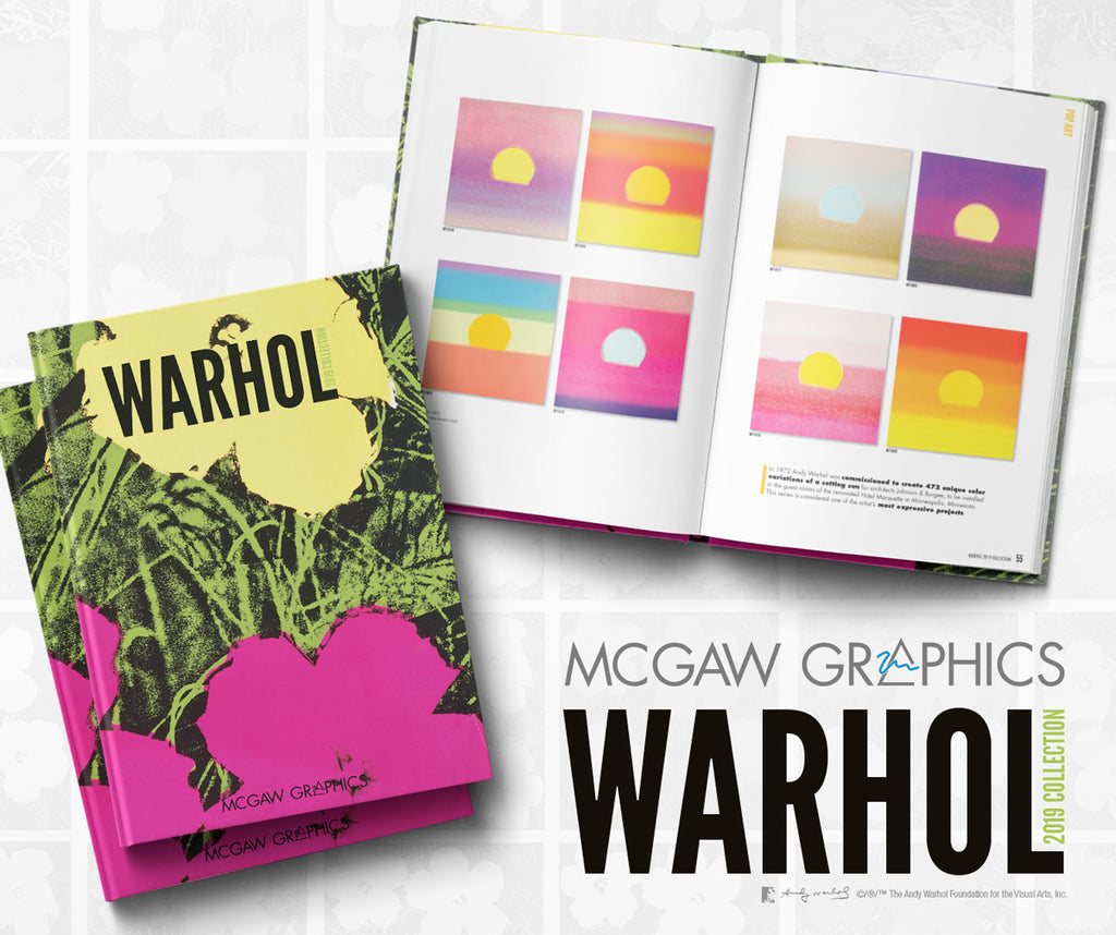 New Andy Warhol 2019 Poster Catalog