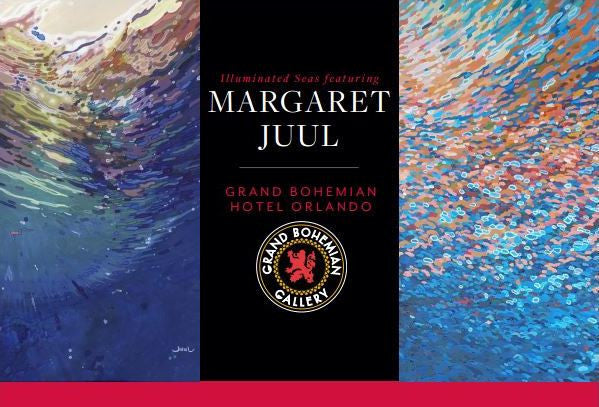 "Grand Bohemian Gallery To Hold Margaret Juul Exhibition ""Illuminated Seas"""