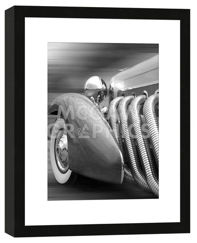 Richard James - Duesenberg in Motion (Framed)