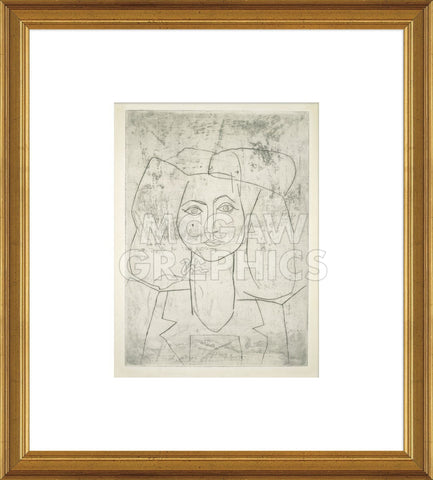 Portrait of Francoise, dressed... (Framed) -  Pablo Picasso - McGaw Graphics