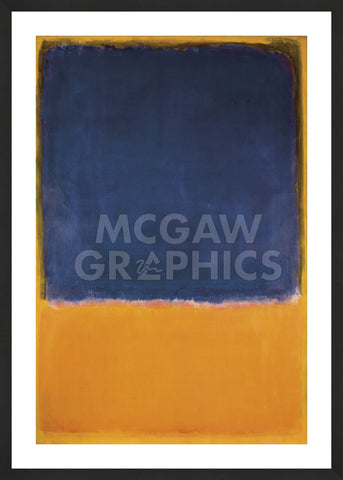 Untitled, 1950 (Framed) -  Mark Rothko - McGaw Graphics